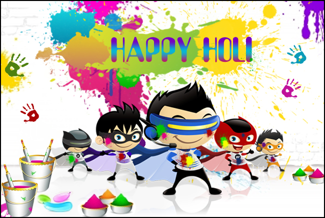 Happy Holi - Wiplon
