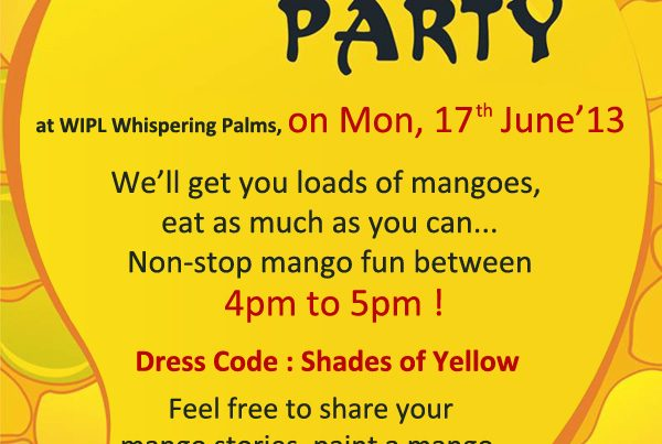 mango party at WIPL