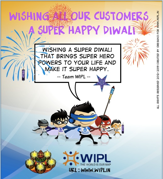 Happy Diwali - Wipl