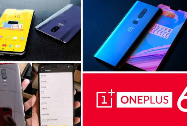 OnePlus 6 leaked images