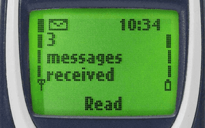sms 1990s