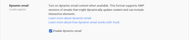 Send Dynamic Email in Gmail