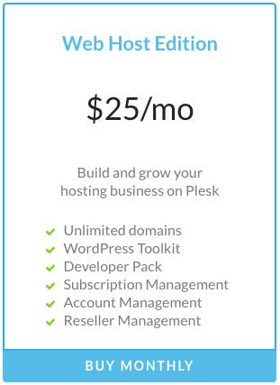 Plesk Host Edition