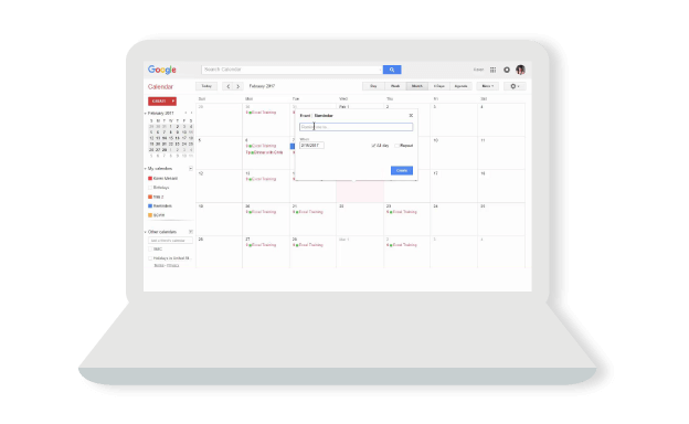 Smart scheduling for meetings
