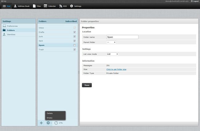 Easy IMAP folder management