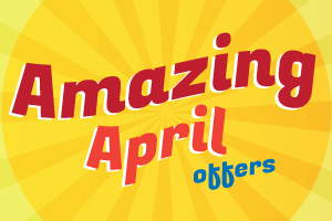 Amazing April Offers