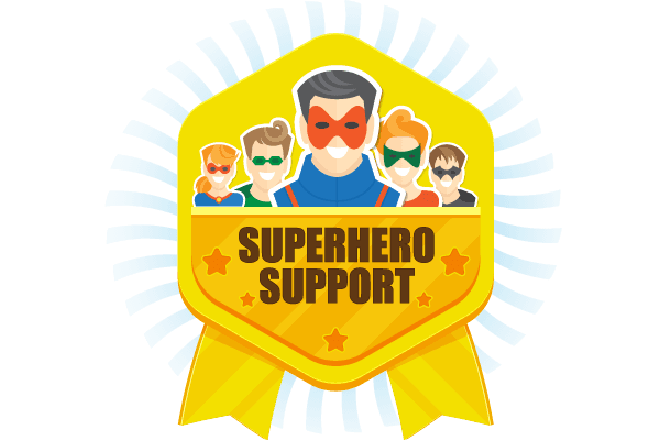 Superhero Support - WIPL