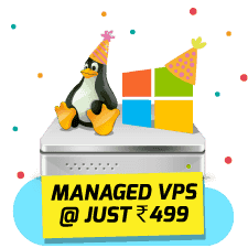 Managed VPS at 499