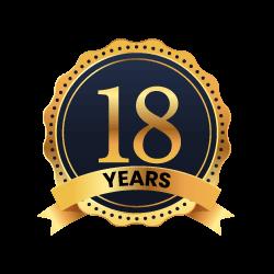18 years of trust
